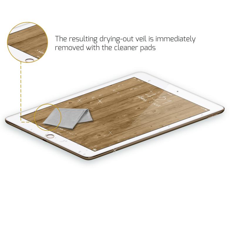 ipad pro glaz liquid keeps your display perfectly safe. Black Bedroom Furniture Sets. Home Design Ideas