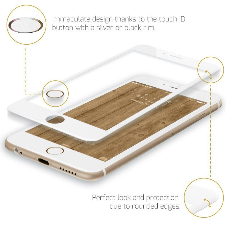 iPhone screenprotector 2.0 with touch id button
