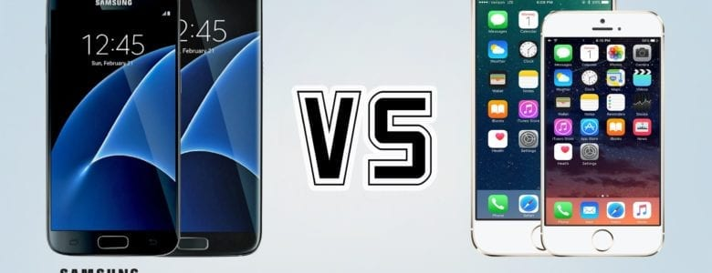 iPhone 7 vs Samsung Galaxy S7 LET'S FIGHT !!!