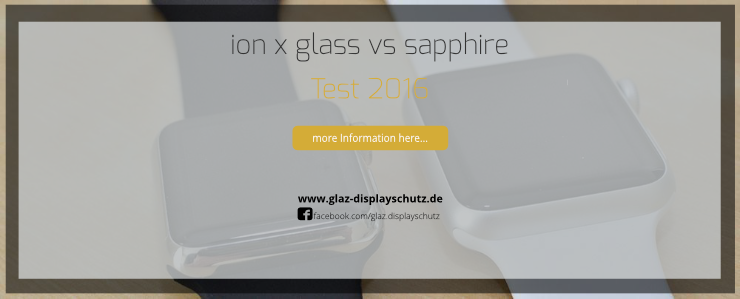 Ion x Glass vs Sapphire - Which one is the better display glass?