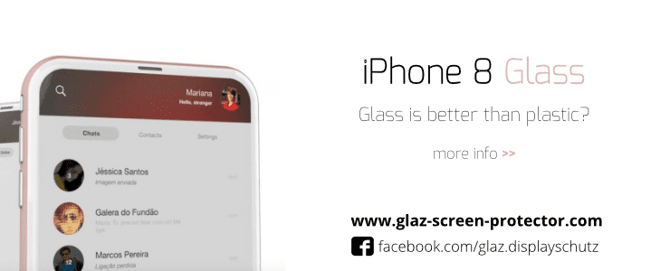 iPhone 8 armored glass