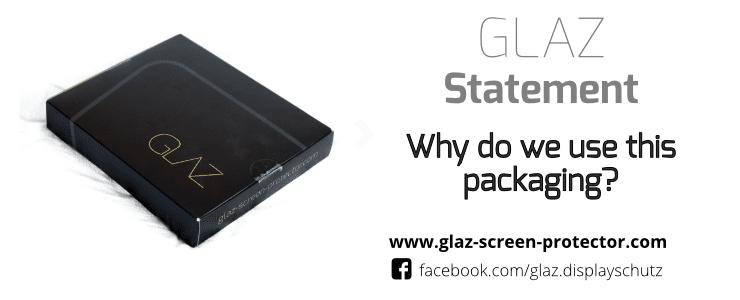 GLAZ packaging