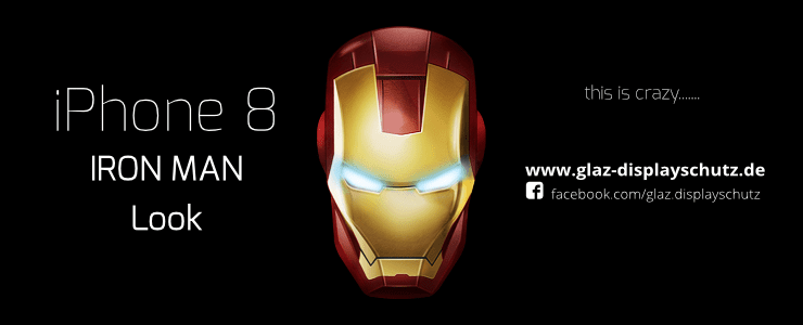 iPhone 8 Touch ID Iron Man