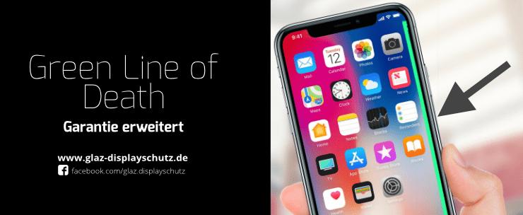 iPhone X Pixelfehler
