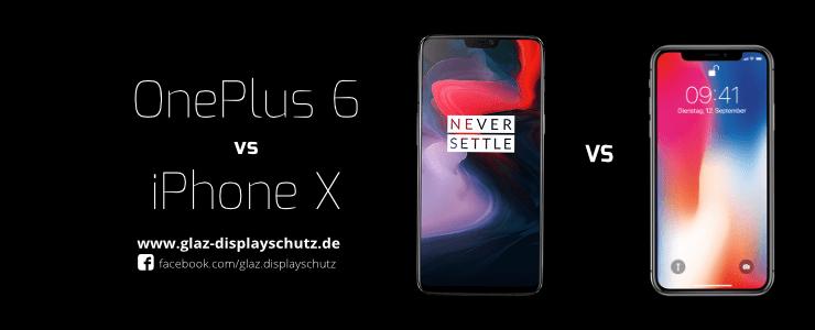 OnePlus 6 vs iPhone X