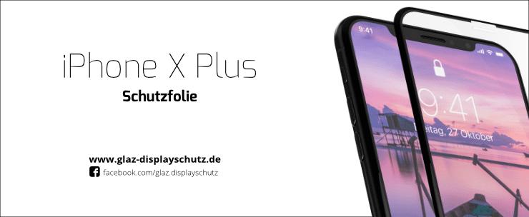 iPhone XS Max Schutzfolie