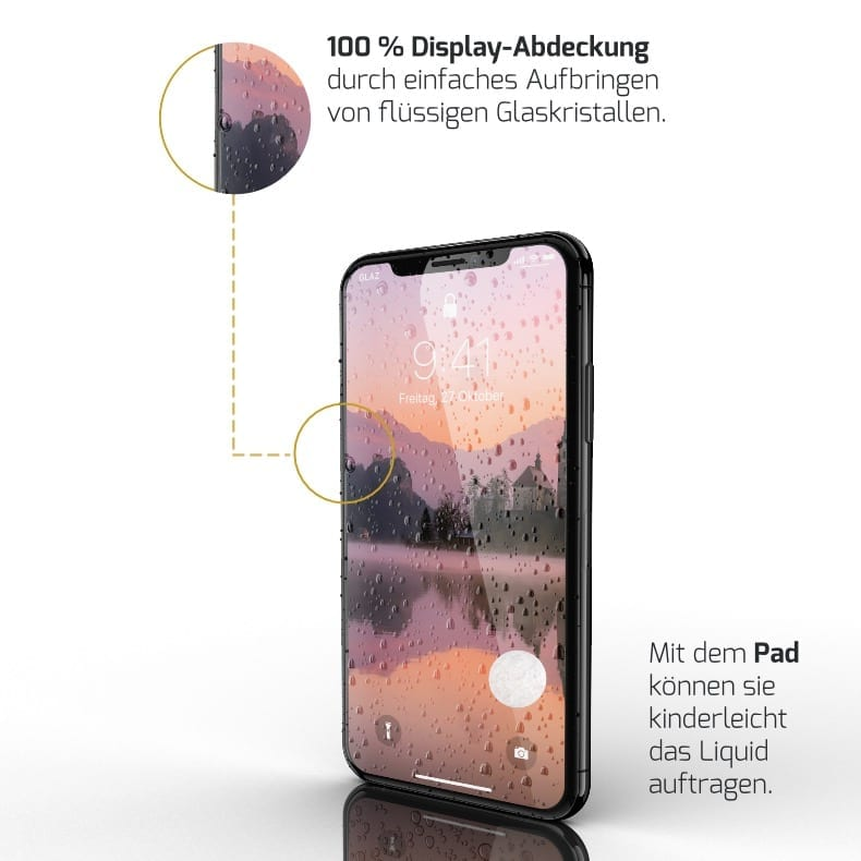 iPhone XS Displayschutz
